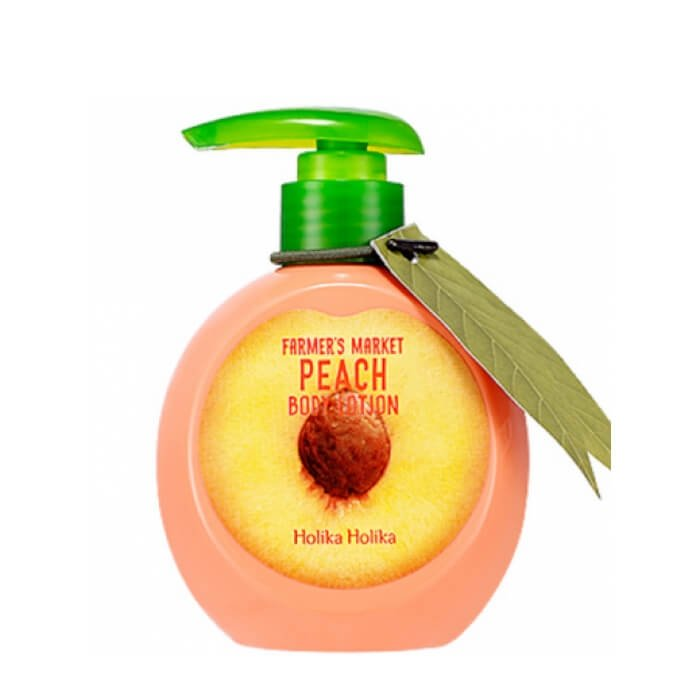 Лосьон для тела Holika Holika Farmer's Market Peach Body Lotion