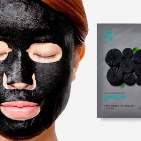 Маска для лица Holika Holika Pure Essence Mask Sheet - Charcoal