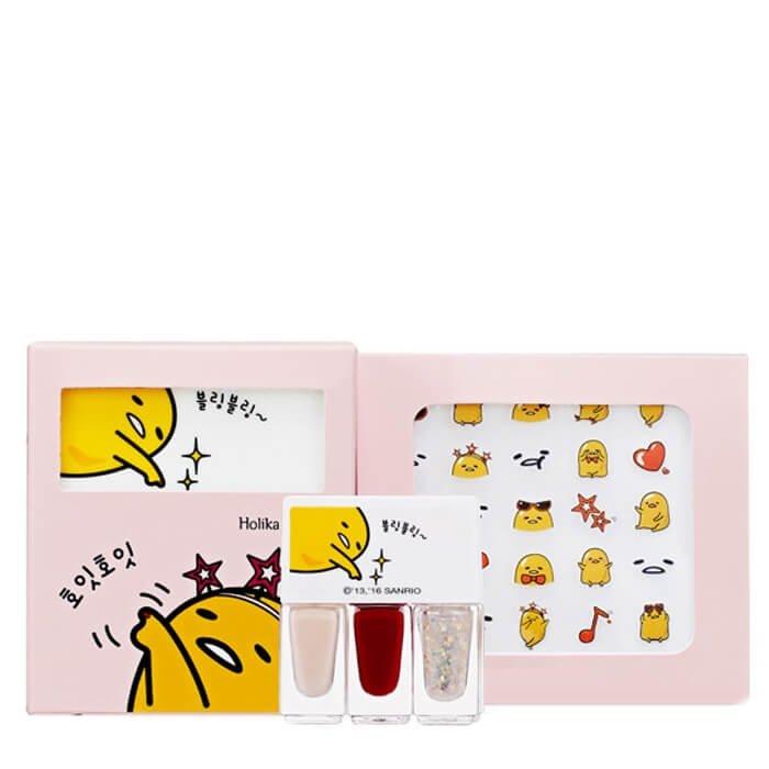 Набор для маникюра Holika Holika Gudetama Lazy & Joy Party-Up Nail Kit