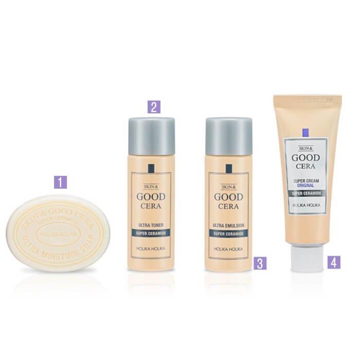 Набор для путешествий Holika Holika Skin & Good Cera Travel Kit