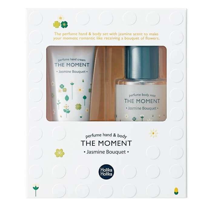 Набор для рук и тела Holika Holika The Moment Perfume Hand & Body Set Mist - Jasmine Bouquet
