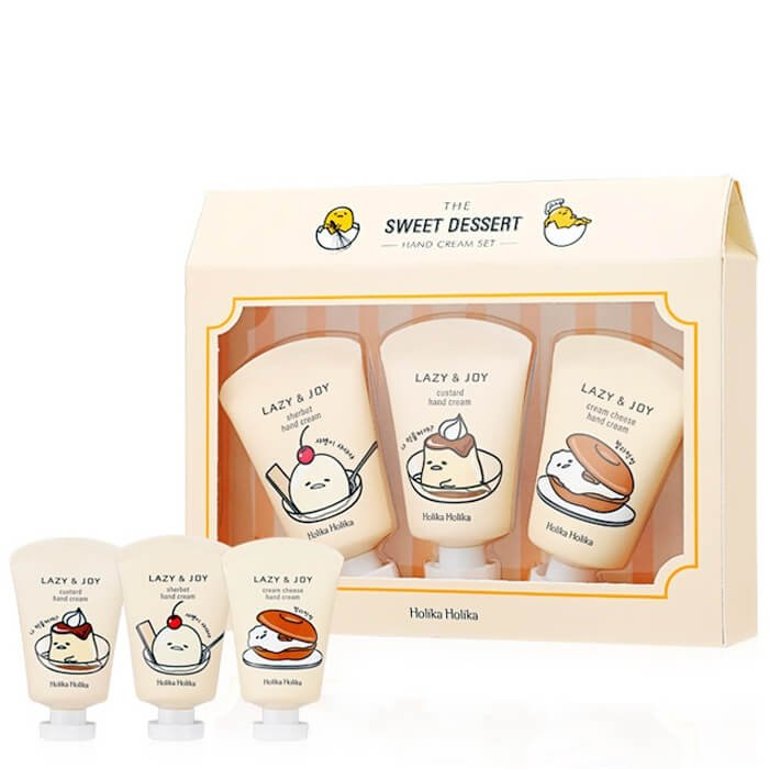 Набор кремов для рук Holika Holika Gudetama Lazy & Joy Hand Cream Set
