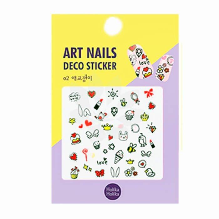 Наклейки для маникюра Holika Holika Art Nails Deco Sticker