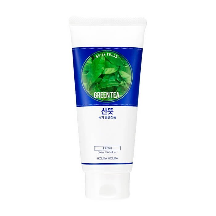 Очищающая пенка Holika Holika Daily Fresh Green Tea Cleansing Foam