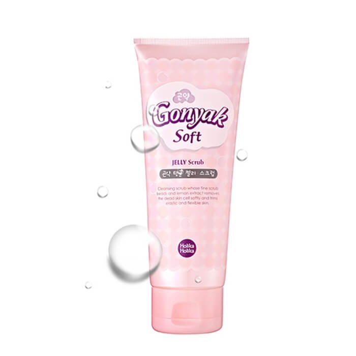 Очищающая пенка Holika Holika Gonyak Soft JELLY in Cleansing Foam