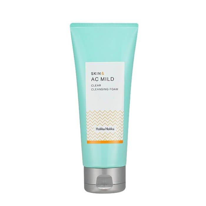 Очищающая пенка Holika Holika Skin & AC Mild Clear Cleansing Foam