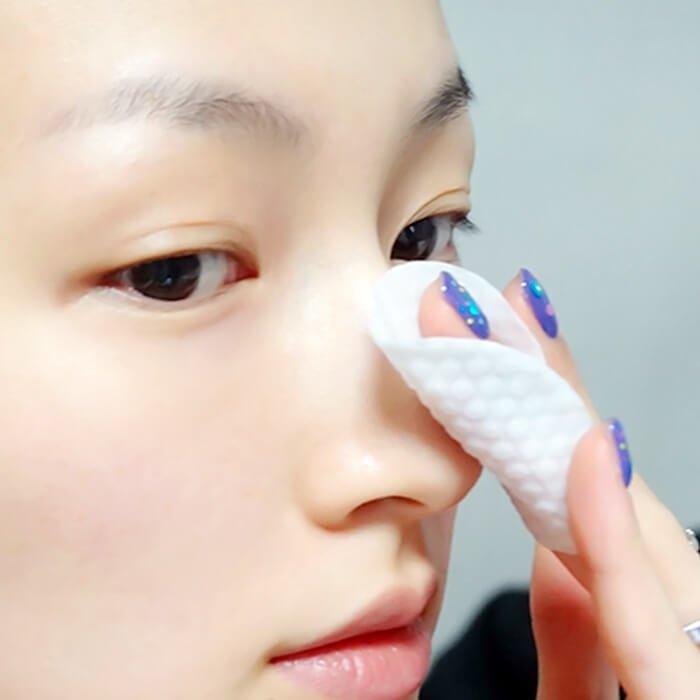 Очищающие спонжи Holika Holika Skin & Pore Zero Toning Pad