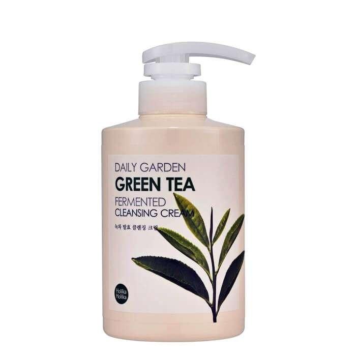 Очищающий крем Holika Holika Daily Garden Green Tea Fermented Cleansing Cream