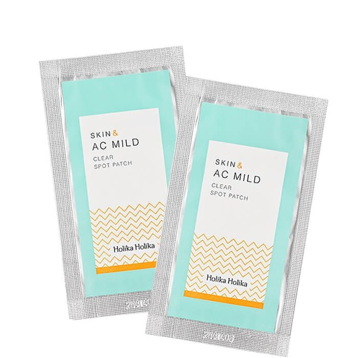Очищающий пластырь Holika Holika Skin & AC Mild Clear Spot Patch