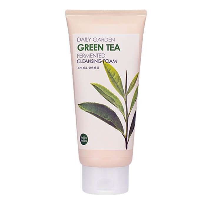Пенка для умывания Holika Holika Daily Garden Green Tea Fermented Cleansing Foam