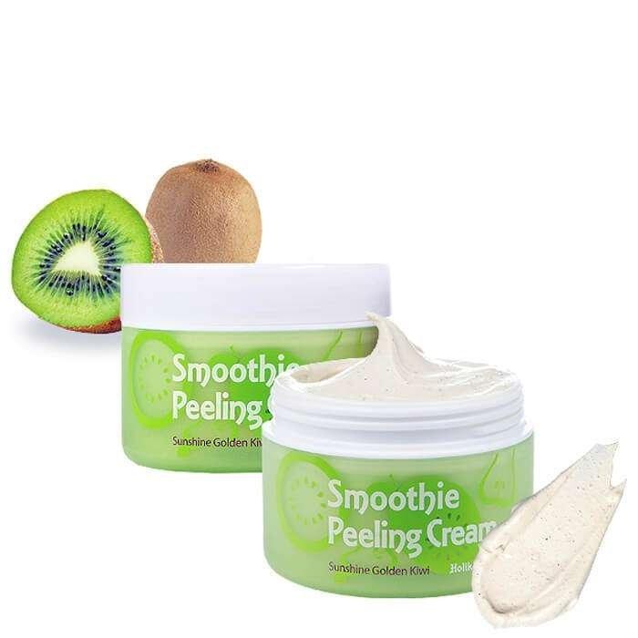 Пилинг для лица Holika Holika Smoothie Peeling Cream Sunshine Golden Kiwi