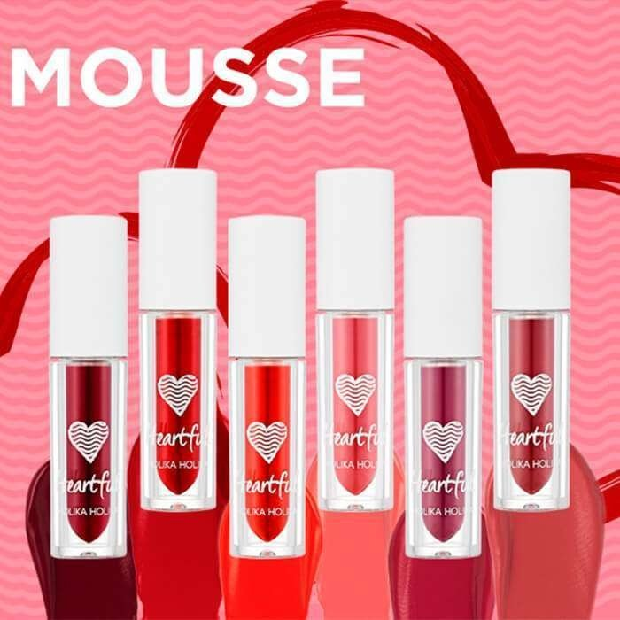 Помада для губ Holika Holika Heartful Fluid Mousse