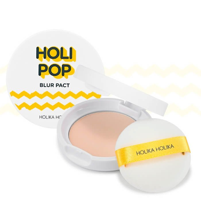 Пудра для лица Holika Holika Holi Pop Blur Pact