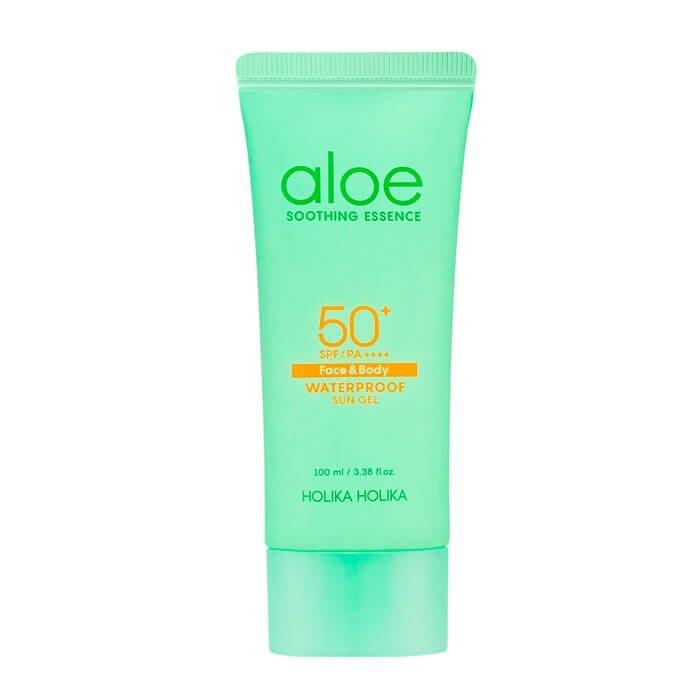 Солнцезащитный гель Holika Holika Aloe Waterproof Sun Gel