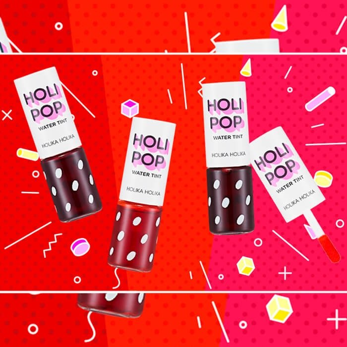 Тинт-чернила для губ Holika Holika Holi Pop Water Tint