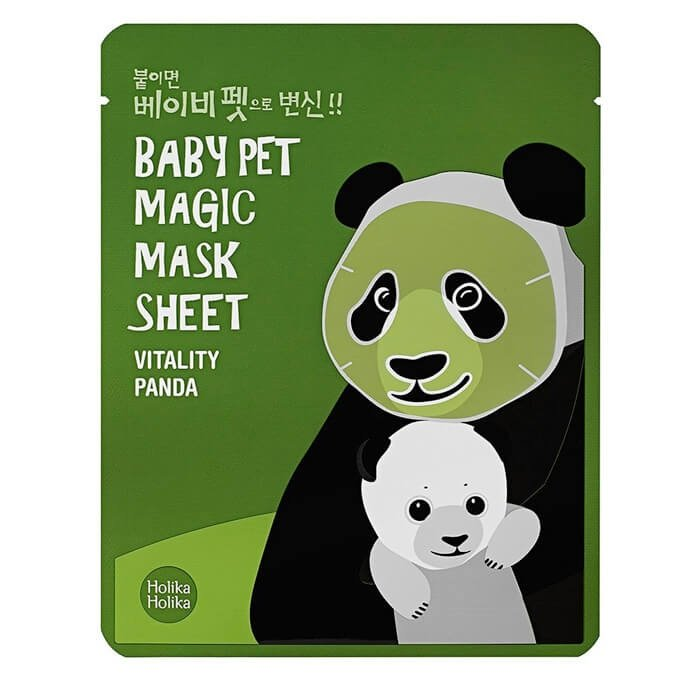Тканевая маска Holika Holika Baby Pet Magic Mask Sheet - Vitality Panda