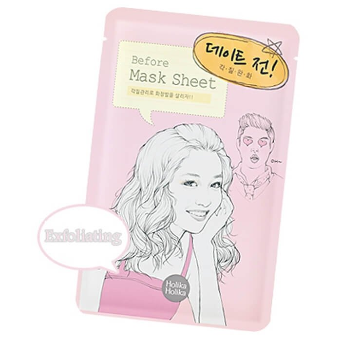 Тканевая маска Holika Holika Before Mask Sheet - Before Dating