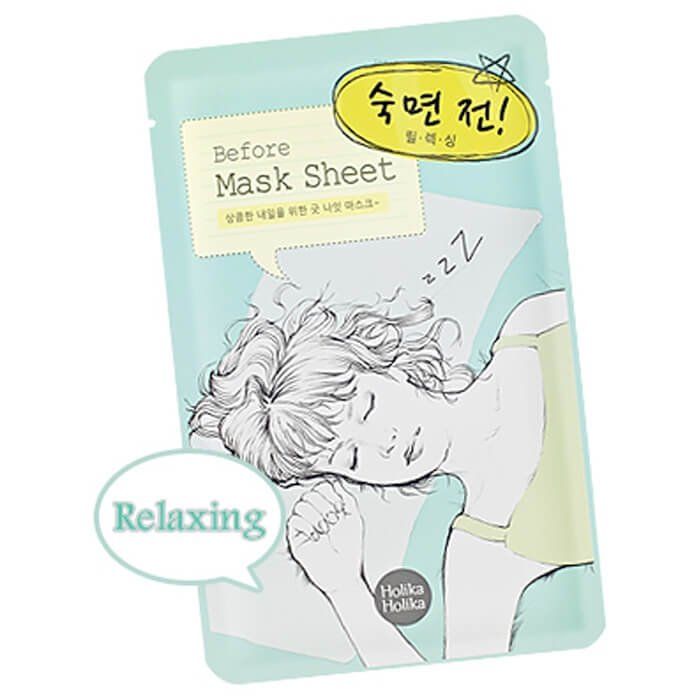Тканевая маска Holika Holika Before Mask Sheet - Before Deep Sleep