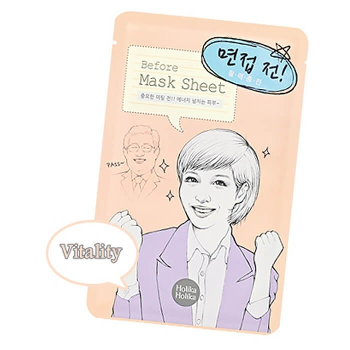 Тканевая маска Holika Holika Before Mask Sheet - Before Interview