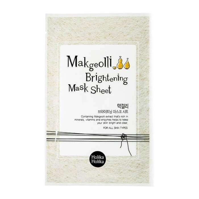Тканевая маска Holika Holika Makgeolli Brightening Mask Sheet