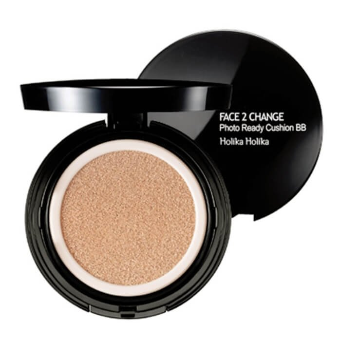 ВВ кушон Holika Holika Face 2 Change Photo Ready Cushion BB