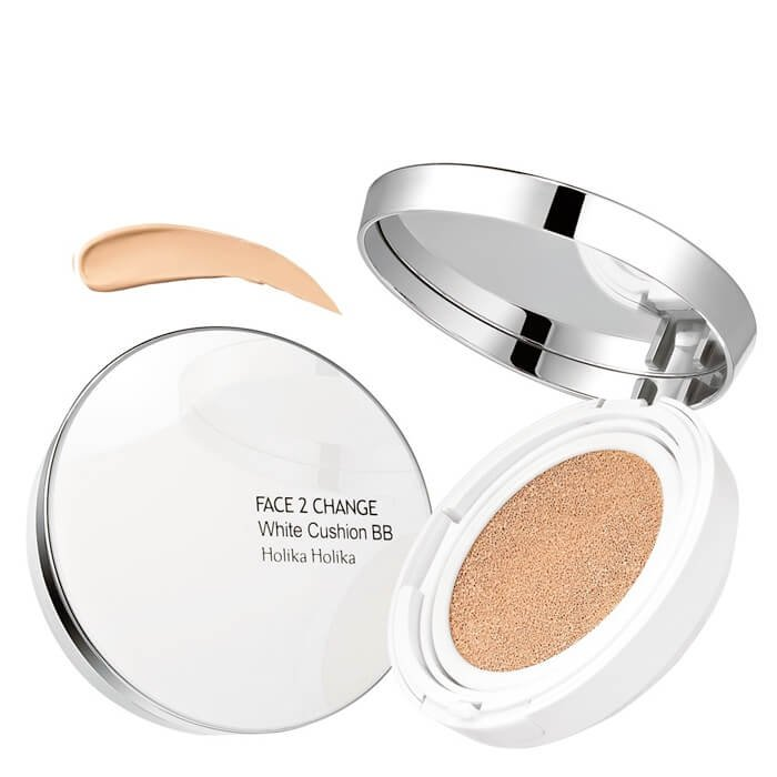 ВВ пудра Holika Holika Face 2 Change White Cushion BB