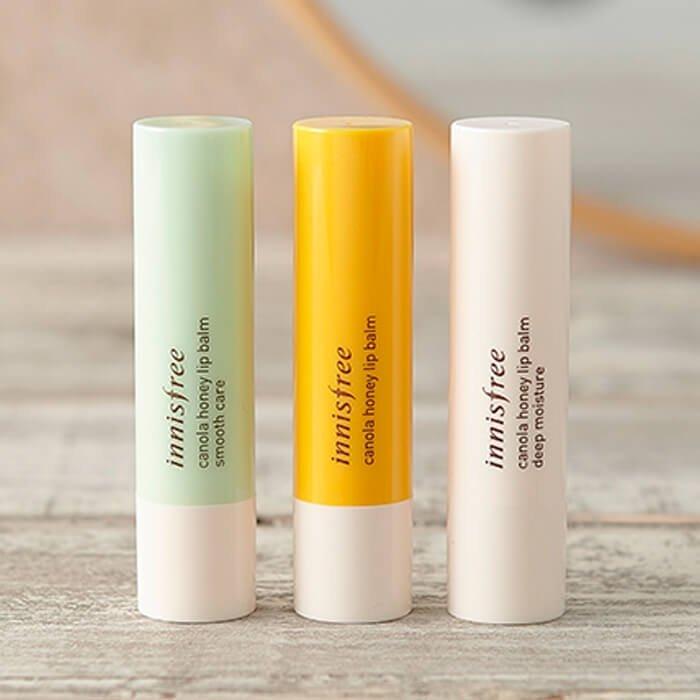 Бальзам для губ Innisfree Canola Honey Lip Balm - Smooth Care