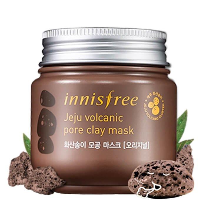Глиняная маска Innisfree Jeju Volcanic Pore Clay Mask
