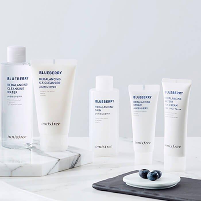 Крем для лица Innisfree Blueberry Rebalancing Cream