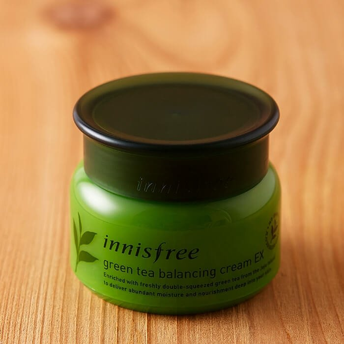 Крем для лица Innisfree Green Tea Balancing Cream EX