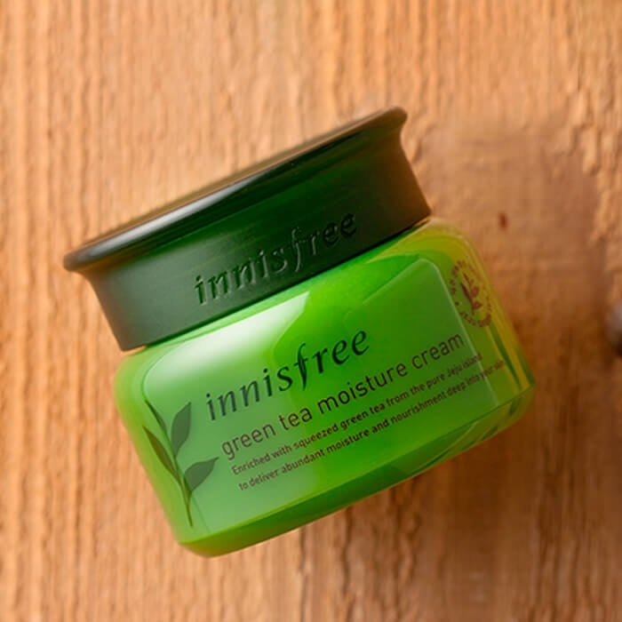Крем для лица Innisfree Green Tea Moisture Cream