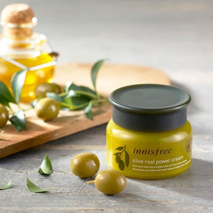 Крем для лица Innisfree Olive Real Power Cream