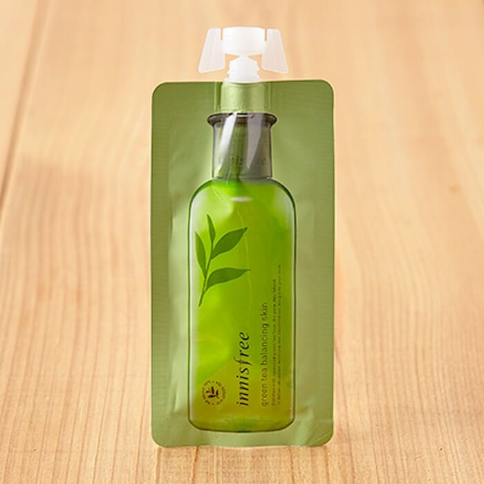 Лосьон для лица Innisfree Green Tea Balancing Lotion (mini)