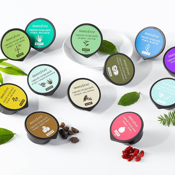 Маска для лица Innisfree Capsule Recipe Pack - Canola Honey