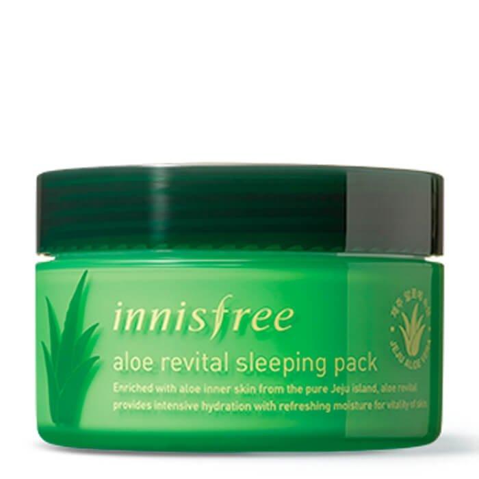 Ночная маска Innisfree Aloe Revital Sleeping Pack