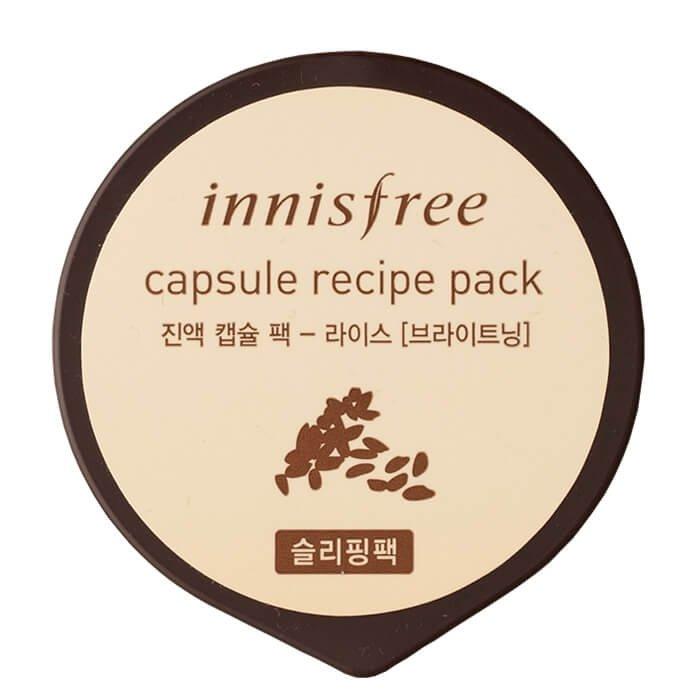 Ночная маска Innisfree Capsule Recipe Pack - Rice