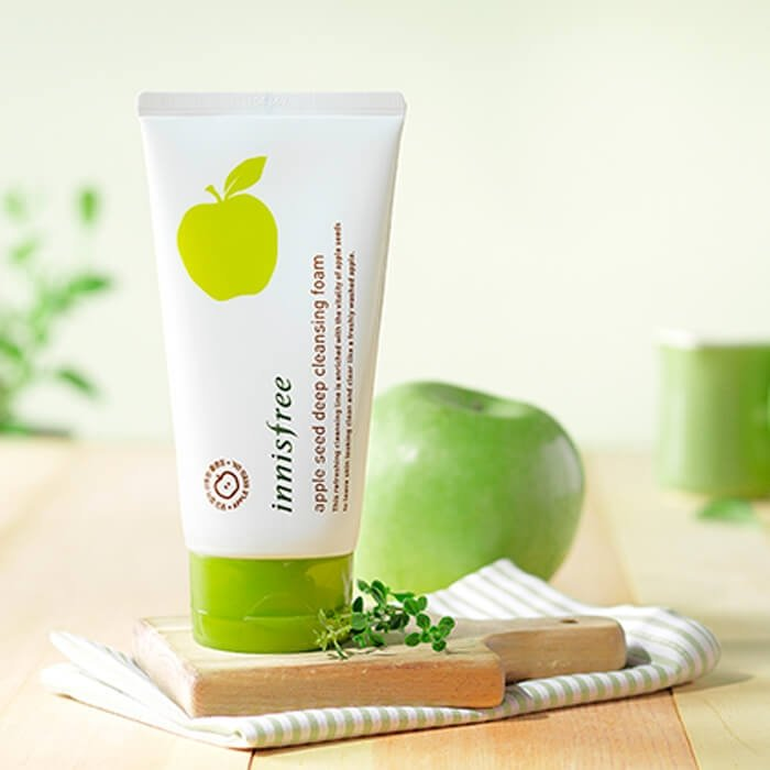 Очищающая пенка Innisfree Apple Seed Deep Cleansing Foam