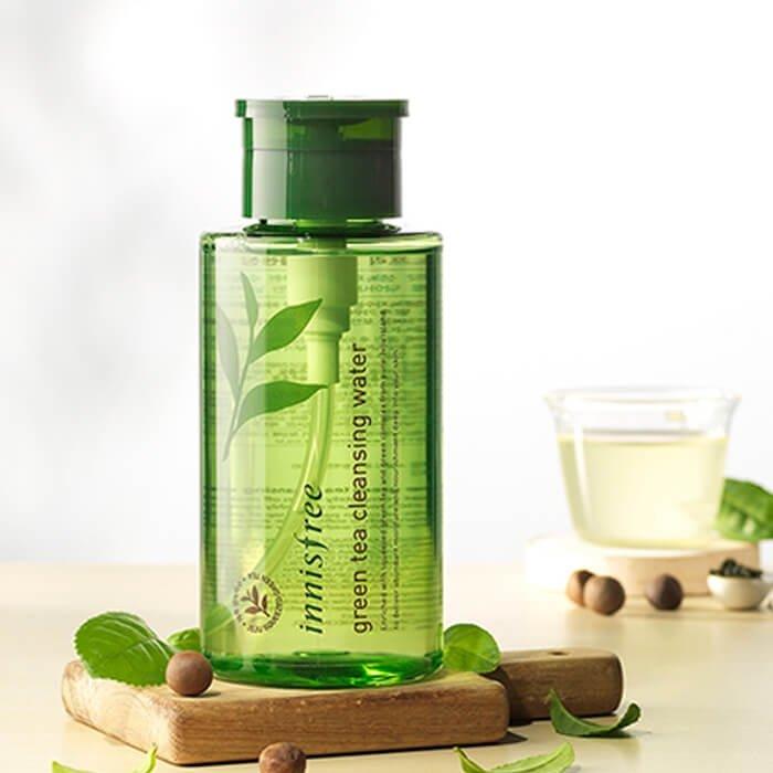 Очищающая вода Innisfree Green Tea Cleansing Water