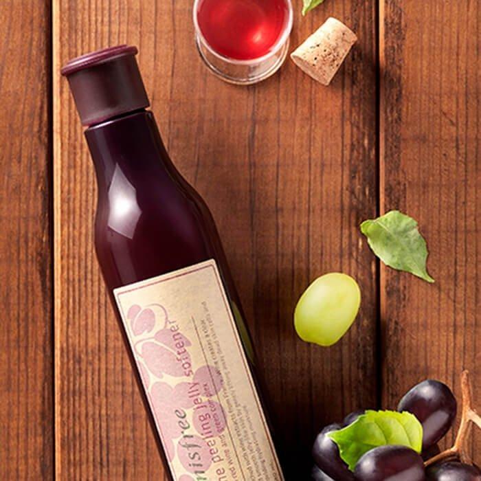 Пилинг-скатка Innisfree Wine Peeling Jelly Softener