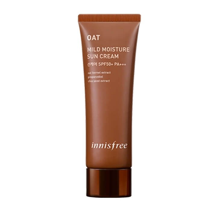 Солнцезащитный крем Innisfree Oat Mild Moisture Sun Cream