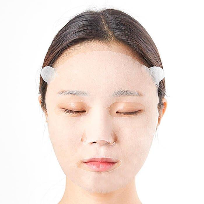 Тканевая маска Innisfree It's Real Squeeze Mask - Broccoli