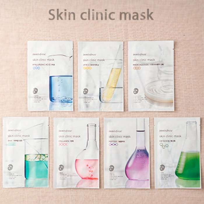 Тканевая маска Innisfree Skin Clinic Mask - BHA