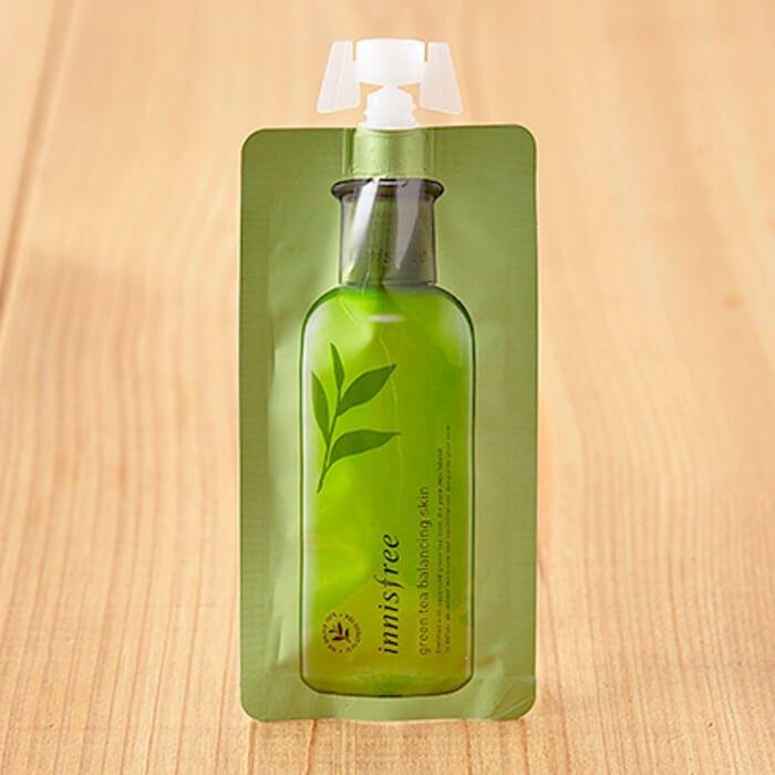 Тонер для лица Innisfree Green Tea Balancing Skin (mini)
