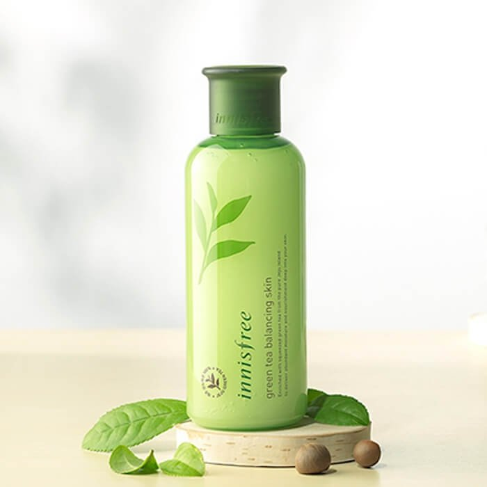 Тонер для лица Innisfree Green Tea Balancing Skin