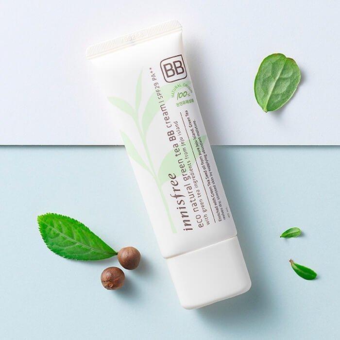 ВВ крем Innisfree Eco Natural Green Tea BB Cream