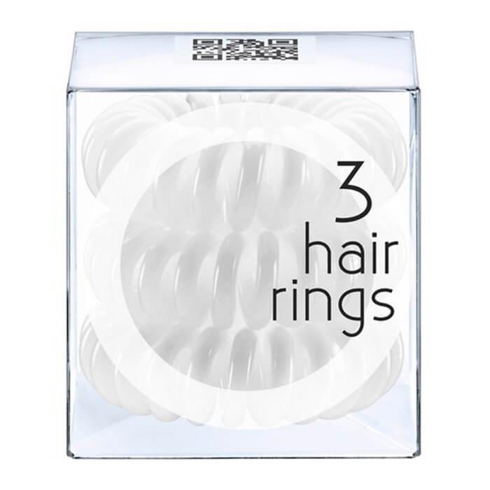 Резинка-браслет для волос Invisibobble Innocent White
