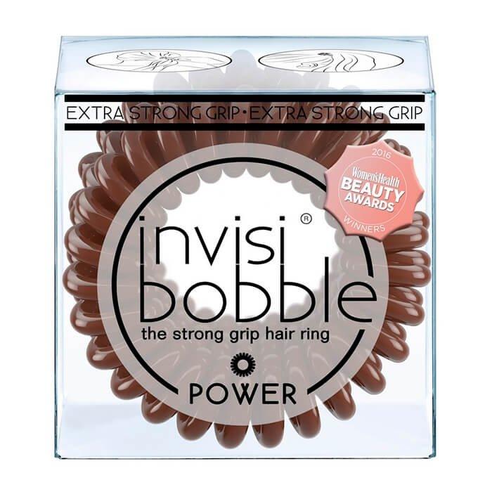 Резинка-браслет для волос Invisibobble Power - Pretzel Brown