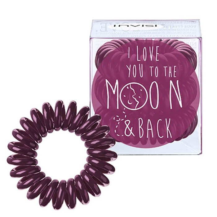 Резинка-браслет для волос Invisibobble To The Moon - Sweet Plum
