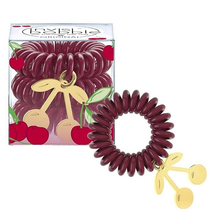 Резинка-браслет для волос Invisibobble Tutti Frutti - Cherry Chérie
