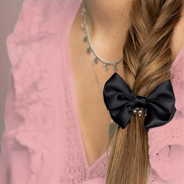 Резинка для волос Invisibobble Bowtique - True Black
